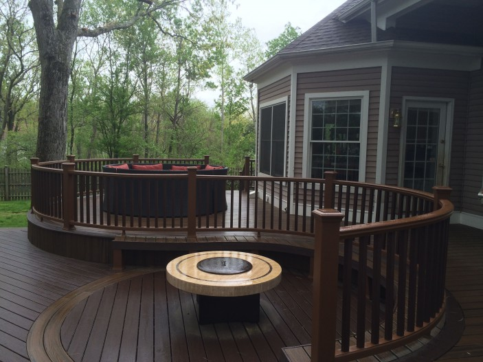 TrexPro Professional Building Services earns national recognition for this Trex deck.