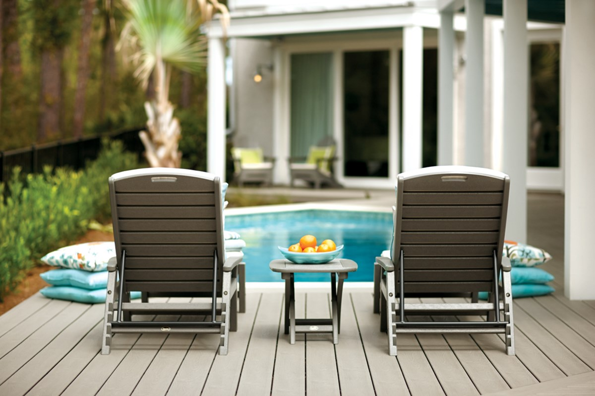 Pool Surround Deck Considerations Materials Cost Trex