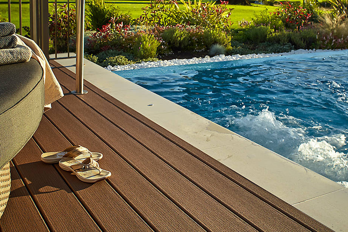 Au What To Consider When Planning Your Above Ground Pool Deck Trex